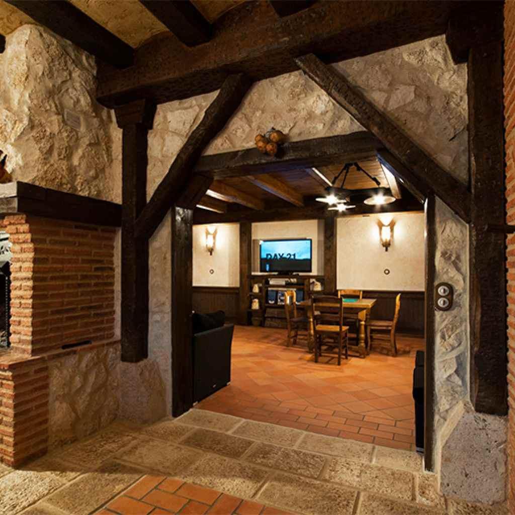 Casa rural la c ntara casa rural en serraduy del pon huesca - Casa rural la reserva ...